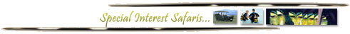 Special interest safaris