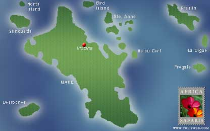 Seychelles Country Guide Includes Maps Travel Information And - Map of seychelles world